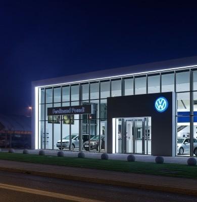 Prenova salonov Volkswagen